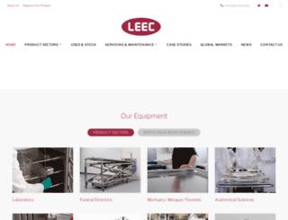 leec.co.uk screenshot