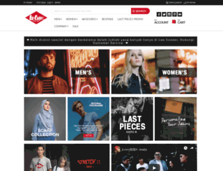 leecooper.co.id screenshot