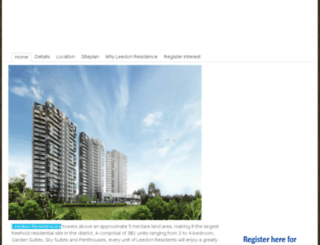 leedon-residencesg.com screenshot