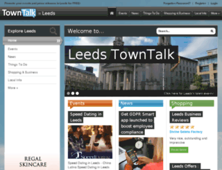 leeds.towntalk.co.uk screenshot