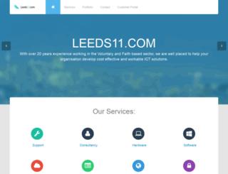 leeds11.com screenshot