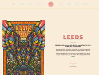 leedsbeer.com screenshot