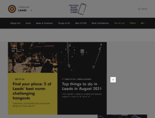 leedsconfidential.co.uk screenshot