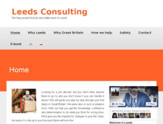 leedsconsulting.co.uk screenshot