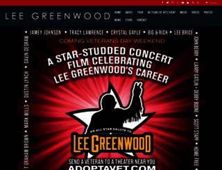 leegreenwood.com screenshot