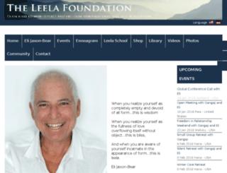 leelacommunity.org screenshot