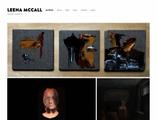 leenamccall.com screenshot