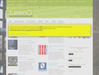 leeno.org screenshot