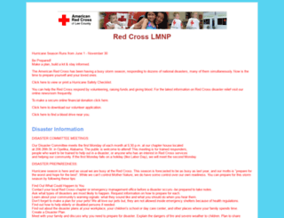 leeredcross.org screenshot