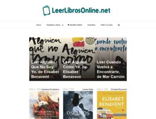 leerlibrosonline.net screenshot
