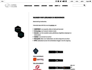 leerlingen.candea.nl screenshot