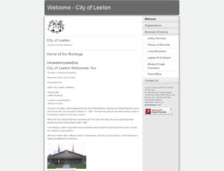leetonmissouri.embarqspace.com screenshot