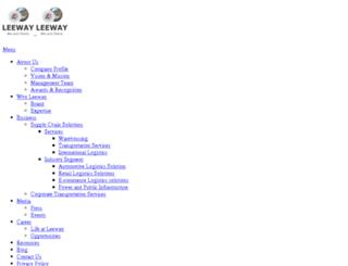 leewaylogistics.in screenshot