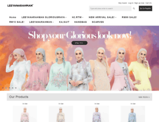 leeyanarahman.com.my screenshot