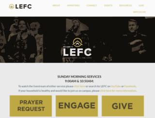 lefc.net screenshot