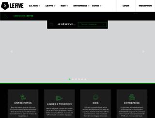 lefive.fr screenshot