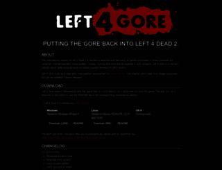 left4gore.com screenshot