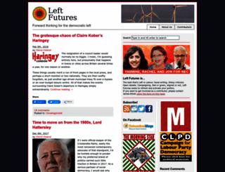 leftfutures.org screenshot
