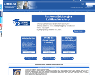 lefthand.com.pl screenshot