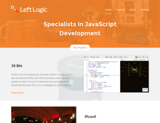 leftlogic.com screenshot