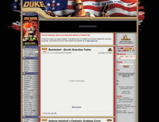 legacy.duke4.net screenshot