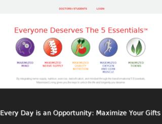 legacy.maximizedliving.com screenshot