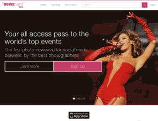 legacy.newzcard.com screenshot