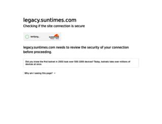 legacy.suntimes.com screenshot