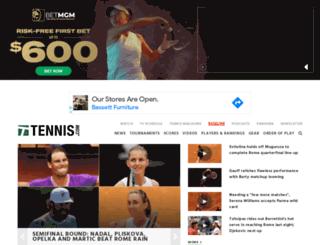 legacy.tennis.com screenshot
