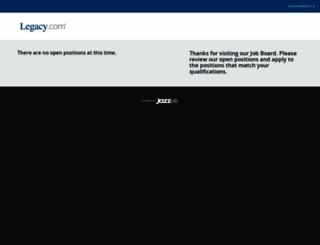 legacy.theresumator.com screenshot