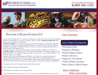 legacy.uspensionfunding.com screenshot