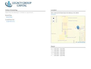 legacygroupcapital.fullslate.com screenshot