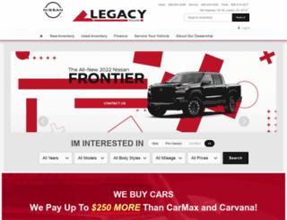 legacynissan.com screenshot