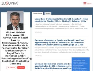 legal-law.de screenshot