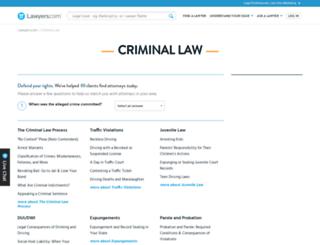 legal-malpractice.lawyers.com screenshot