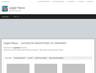 legal-news.de screenshot