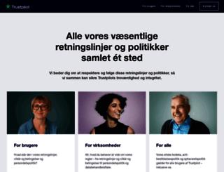 legal.trustpilot.dk screenshot