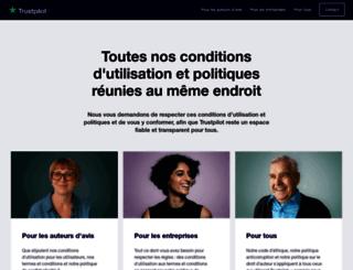 legal.trustpilot.fr screenshot