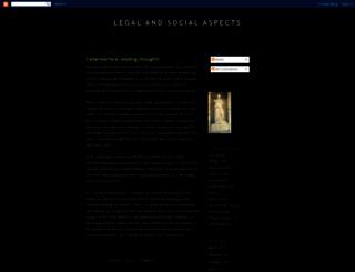 legalandsocial.blogspot.co.uk screenshot
