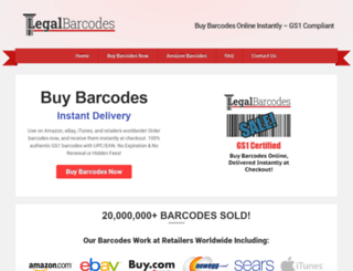legalbarcodes.com screenshot
