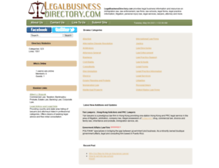 legalbusinessdirectory.com screenshot