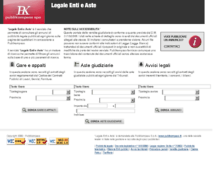 legaleentieaste.lastampa.it screenshot