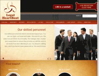 legalheartbeat.com screenshot