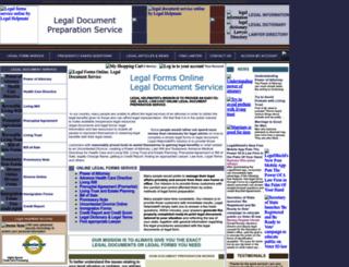 legalhelpmate.com screenshot