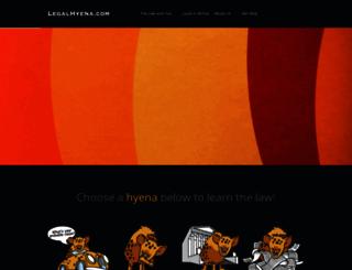legalhyena.com screenshot