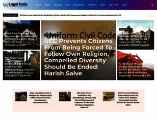 legalindia.com screenshot