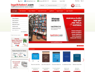 legalkitap.com.tr screenshot