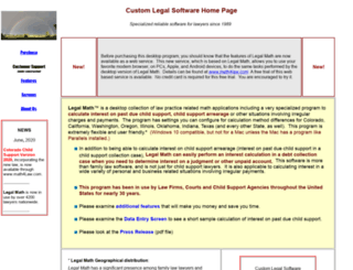 legalmath.com screenshot