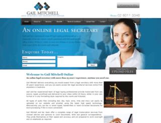 legalsecretarialservices.com.au screenshot
