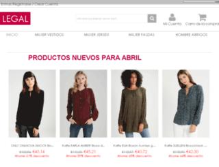 legalsubstancescharge.es screenshot